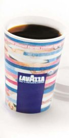 8oz Lavazza Paper cups