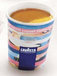 4oz Lavazza Paper cups